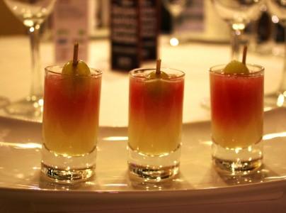 Aperitivos para banquetes en hotel casa rosalia