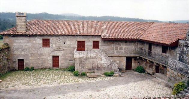 Pazos en Galicia