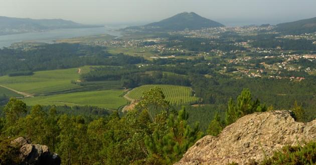Zona turística en Galicia, el Baixo Miño