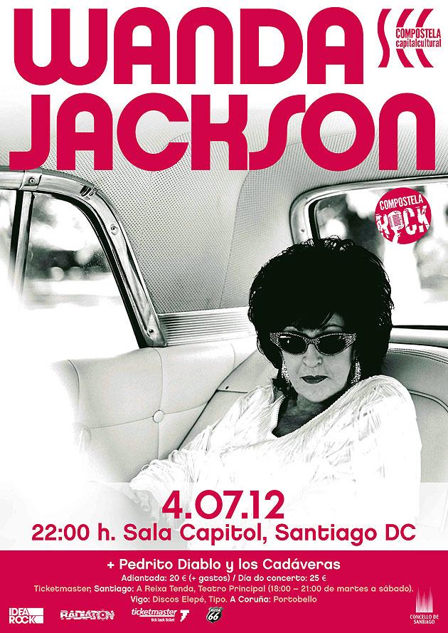 Wanda Jackson, la estrella del Rockabilly, en Compostela