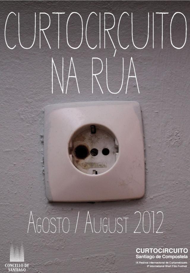 Cortocircuito Na Rúa: proyecciones de cortometrajes al aire libre en Compostela