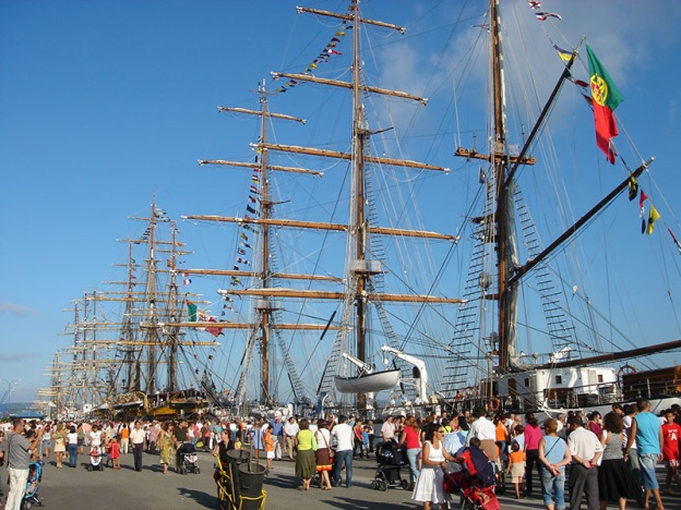 Tall Ship Race, regata de veleros en A Coruña