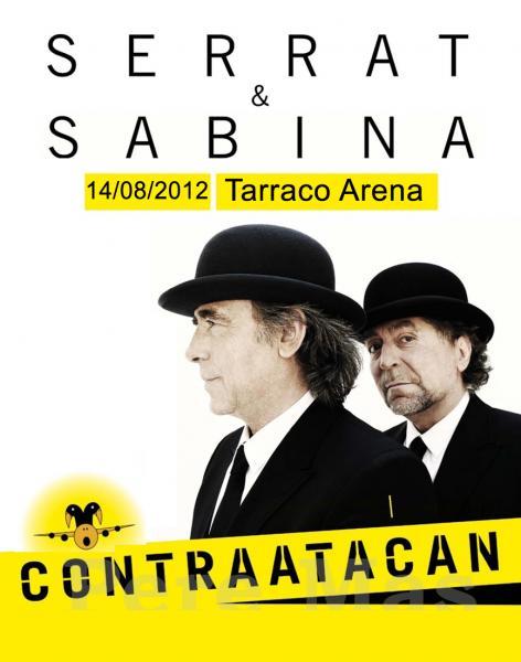 Dos pájaros contraatacan.  Serrat & Sabina 18 de agosto en A Coruña
