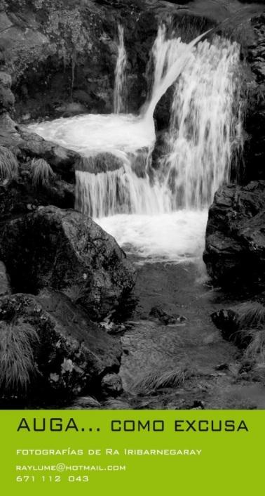 A auga… como excusa, de Ra Iribarnegaray Exposición fotográfica, Brión.