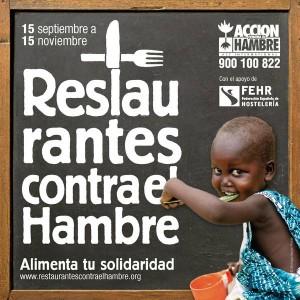Casa Rosalia participo en la campaña Restaurantes contra el Hambre. Lee el Informe final