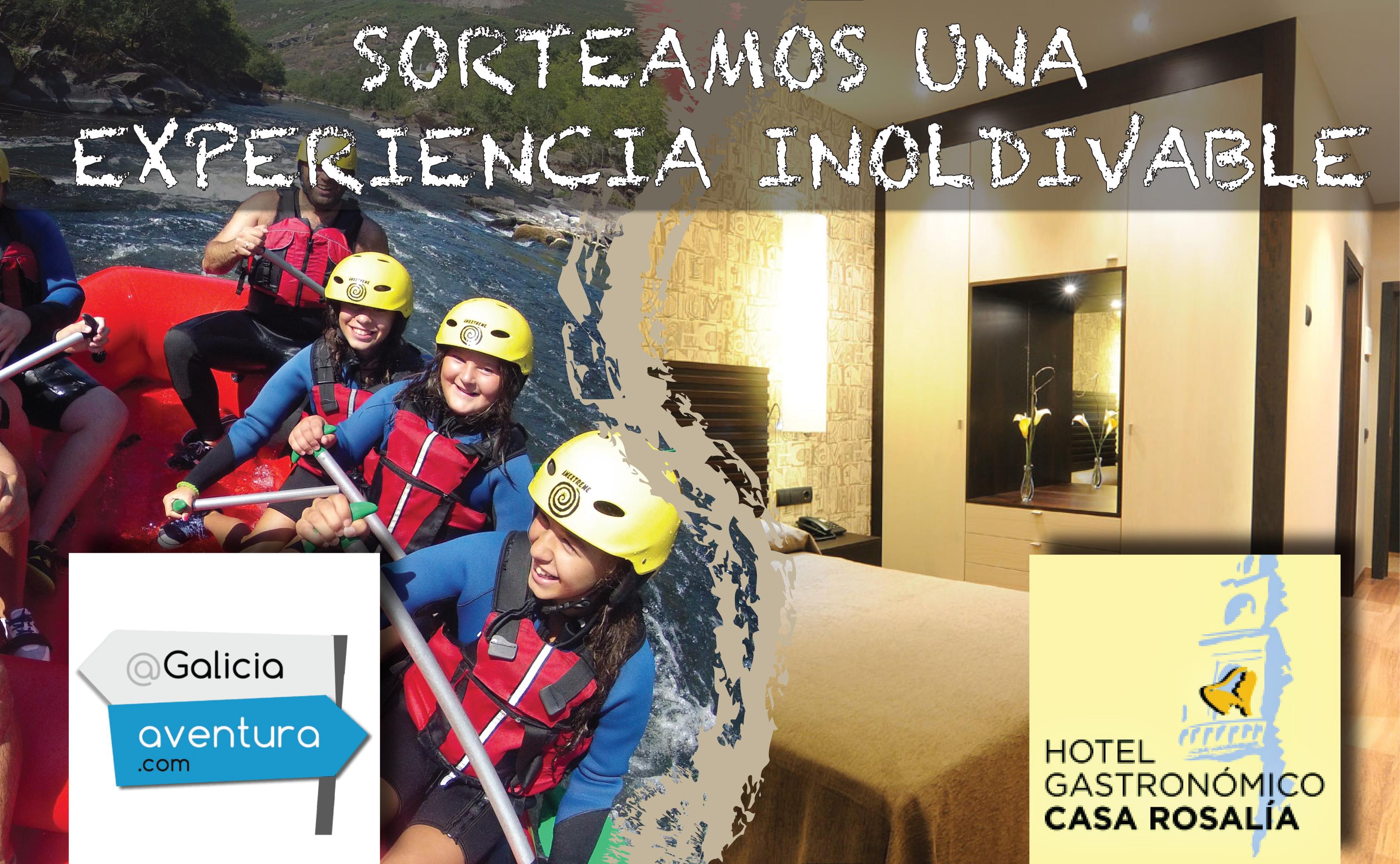 Sorteo Estancia con Rafting en Galicia