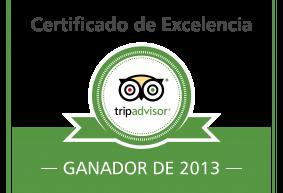 Tripadvisor_Hotel_Casa_Rosalia_Certificado_Excelencia_2013