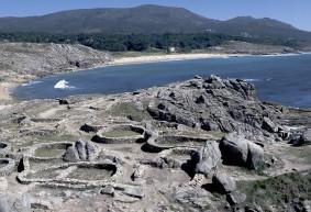 Castros de Baroña en Galicia
