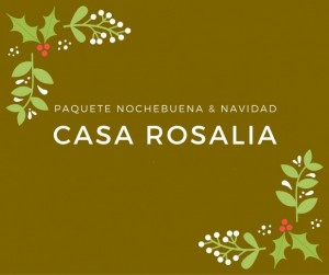 Paquete Nochebuena & Navidad 2018