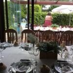 Salon Piscina con vistas al jardín